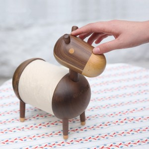 wooden animal cute donkey bathroom tissue Bath tissue, toilet roll holder,toilet paper dispenser